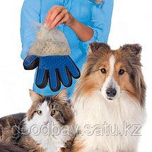 Перчатка Pet Brush Glove для вычесывания животных, фото 2