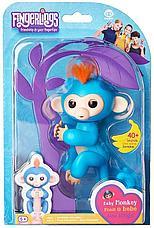 Интерактивная игрушка обезьяна Fingerlings Monkey, фото 2