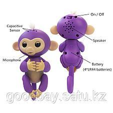 Интерактивная игрушка обезьяна Fingerlings Monkey, фото 3
