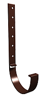 Кронштейн желоба металлический 125x90 мм Коричневый VINYLON