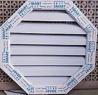 Слуховые окна (60х60), чердачное мансардное окно для фронтона белый