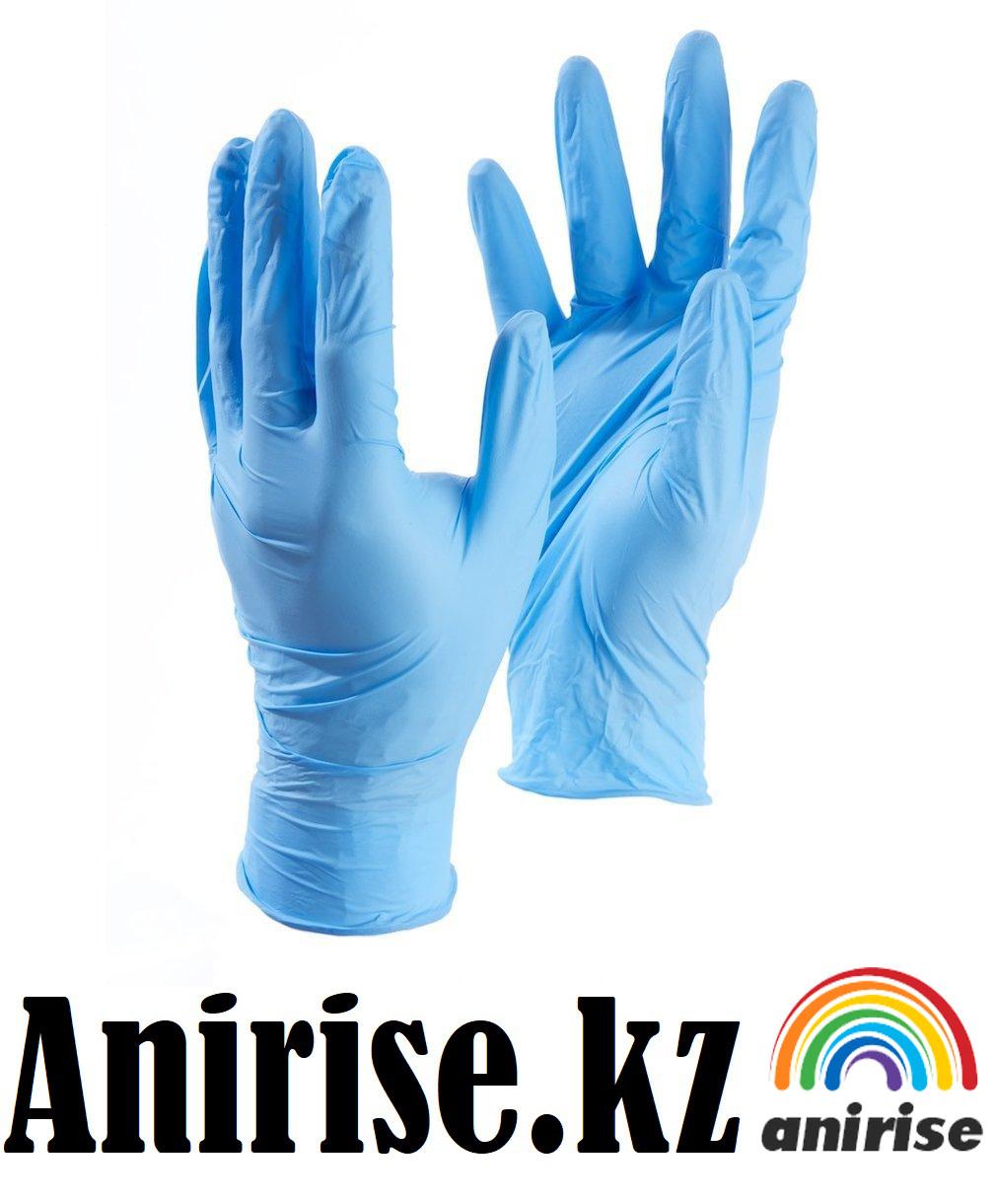Перчатки нитриловые не стерильные размер L