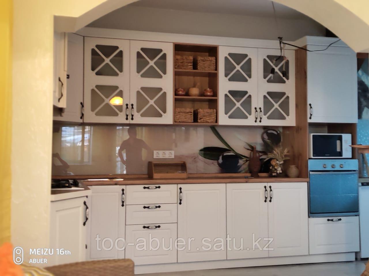 Кухонный гарнитур на заказ из МДФ