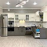 Кухонный гарнитур на заказ из МДФ, фото 3