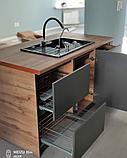 Кухонный гарнитур в стиле Хай-Тек на заказ, фото 5