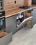 Кухонный гарнитур в стиле Хай-Тек на заказ, фото 6