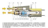 Электромагнитный топливный насос 27.1106010-40 (24В) для отопительной установки автокрана О30-0010-20.В4