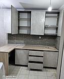 Кухонный гарнитур в стиле Хай-Тек на заказ, фото 4
