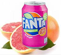Fanta Pink Grapefruit Zero Грейпфрукт 330ml Дания (24шт-упак)
