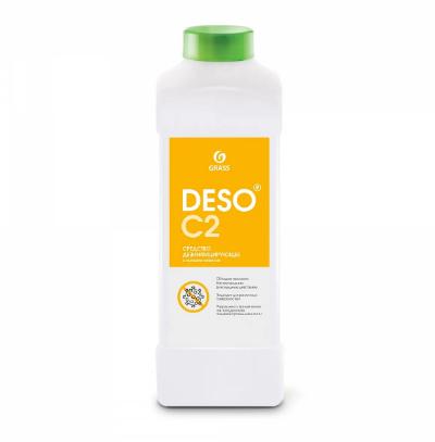 Дезинфицирующее средство с моющим эффектом на основе ЧАС DESO C2 клининг