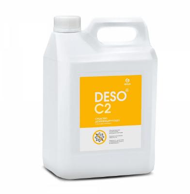 Дезинфицирующее средство с моющим эффектом на основе ЧАС DESO C2 клининг, фото 2