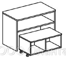 Игровой модуль для развивающей деятельности (800х400х620 мм) арт. КП4