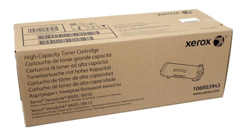 Картридж оригинал 106R03943 для Моделей Xerox VersaLink B600DN/610DN / B605S/605X/605XL/615X/615XL, фото 2