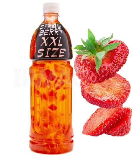 Натуральный напиток с кусочками фруктов (Strawberry Клубника) 12шт-упак