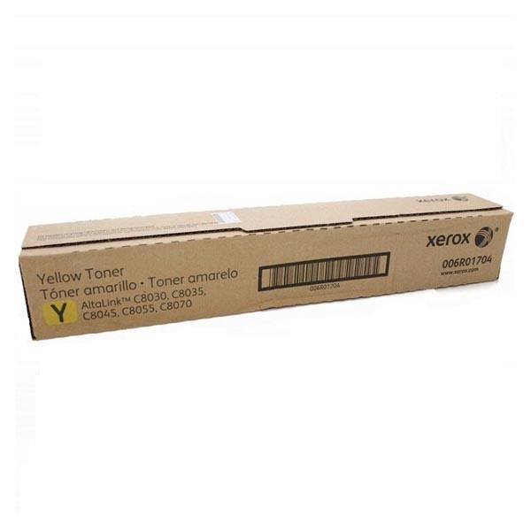 006R01704 Тонер-картридж желтый/ 15К при 5% заполении для Xerox AltaLink Altalink C8030/35/45/55/70