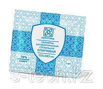 Салфетка антисептическая спиртовая 200х250 мм