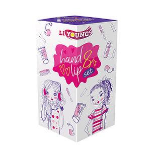 Подарочный набор LI YOUNG hand & lip set 3