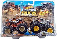 Машинки Hot Wheels Monster Trucks Монстр Трак Разрушители набор 2 шт