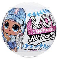 Куклы Лол, Кукла L.O.L. Surprise ALL STAR BBs Счастливые Звезды и Сердцеедки
