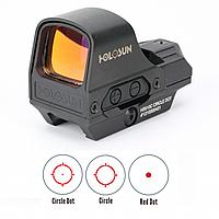 HOLOSUN Коллиматорный прицел HOLOSUN HS510C OpenReflex, совместимый с ПНВ