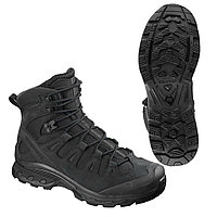 Salomon Тактические ботинки, стойкая к проколам подошва Salomon Quest 4D Forces 2 EN L40682500, 10.5, Black