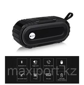 Портативная колонка New Rixing NR с защитой от брызг (батарея до 10 часов)