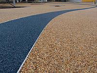 Устройство мягких покрытий (гранитная крошка, мраморная крошка, песок и др.)