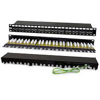 Hyperline PP2-19-24-8P8C-C6A-110D патч-панель (PP2-19-24-8P8C-C6A-110D)