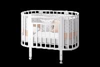 Кровать овальная Элен 2 маятник (Можгинский Лесокомбинат, Россия)