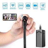 Full HD видео камера с Wi-Fi на гибкой шее, которую легко спрятать в доме