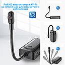 Full HD видео камера с Wi-Fi на гибкой шее, которую легко спрятать в доме, фото 5