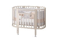 Кровать овальная Элен 3 маятник+ящик (Можгинский Лесокомбинат, Россия)