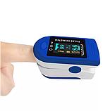 Пульсоксиметр пальчиковый (сатурация+пульс) AIQURA AD805, фото 3