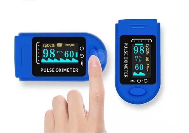 Пульсоксиметр пальчиковый (сатурация+пульс) AIQURA AD805