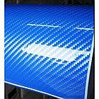 Плёнка синий глянец карбон LG 4D, фото 2