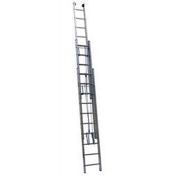 Лестница Алюмет 3319 серия SR3 выдвижная с канатной тягой (3x19ст.)