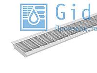 Решетка водоприемная Gidrolica Standart РВ -10.13,6.100 - ячеистая стальная оцинкованная Гидролика