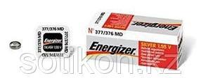 Элемент питания Energizer  SILV OX 377-376 часовая -1 штука в упаковке