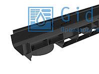 Лоток водоотводный Gidrolica Standart ЛВ-10.14,5.08 - пластиковый Гидролика