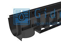 Лоток водоотводный Gidrolica Standart ЛВ-10.14,5.13,5 - пластиковый Гидролика