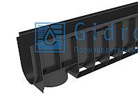 Лоток водоотводный Gidrolica Standart ЛВ-10.14,5.18,5 - пластиковый Гидролика