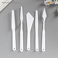 Набор инструментов для моделирования, белые, 5 предметов