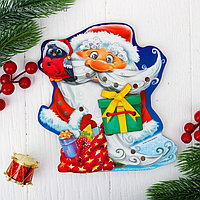 Шнуровка фигурная «Дедушка Мороз с подарками», 4 элемента