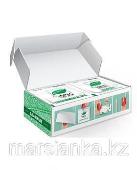 Салфетки с пропиткой для снятия гель-лака Milv, 50шт