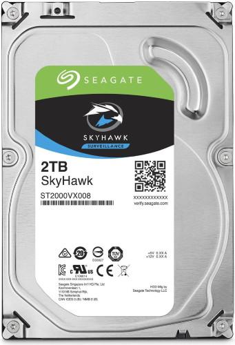 ST2000VX - 2Тб специализированный жесткий диск для систем IP видеонаблюдения.