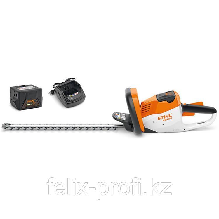 Кусторез (ножницы) аккумуляторный Stihl HSA 56 SET (с АК 10 и AL 101) (45 см)