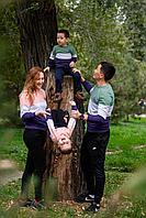 Стильные свитшоты для всей семьи (цена за детский свитшот)