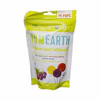 Органические леденцы YumEarth с кислинкой, 14 шт/уп, 85 г