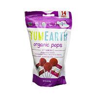 Органические леденцы YumEarth с витамином С, 14 шт/уп, 85 г