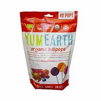 Органические леденцы YumEarth, 40 шт/уп, 241 г